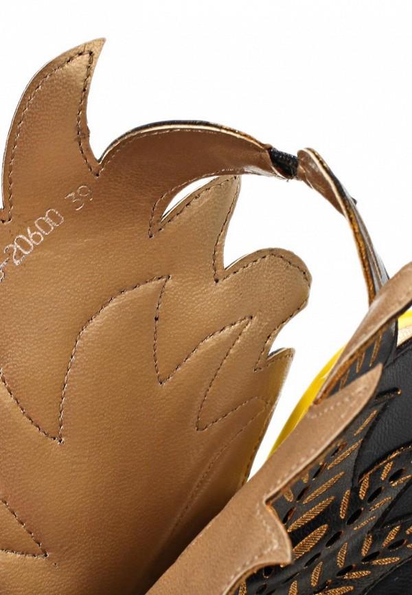 фото Красивые туфли на шпильке Lamania LA002AWAAI49, черные кожаные