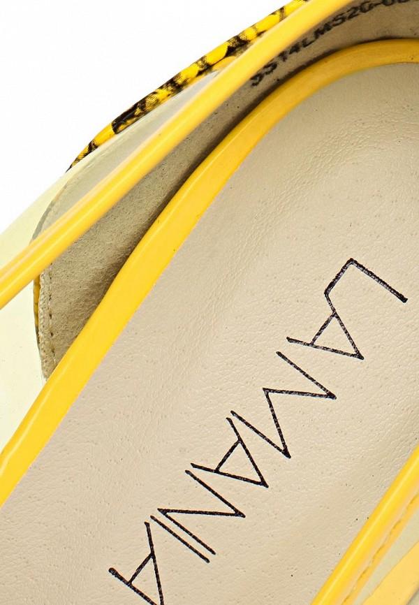 фото Туфли на высоком каблуке Lamania LA002AWAAI63, желтые