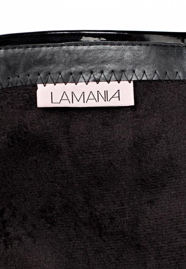 фото Сапоги женские на платформе и шпильке Lamania LA002AWBOK42, черные