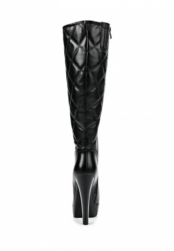 фото Сапоги на платформе и высоком каблуке Lamania LA002AWBOK51, черные
