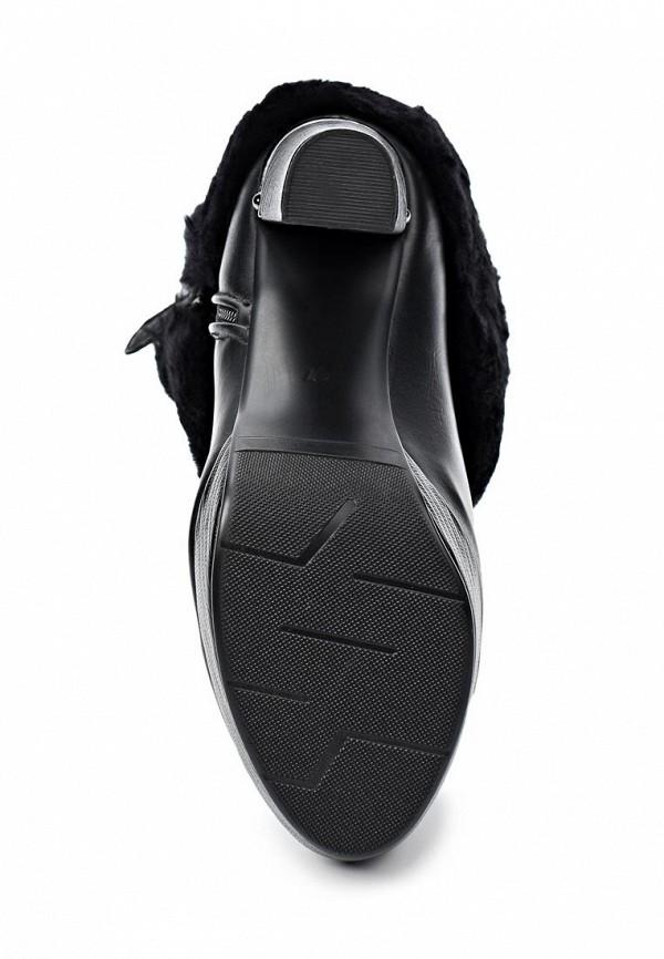 фото Ботильоны на платформе Lamania LA002AWIF288, черные/высокий каблук