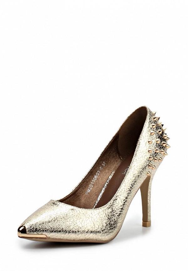Золотые туфли на ламода
