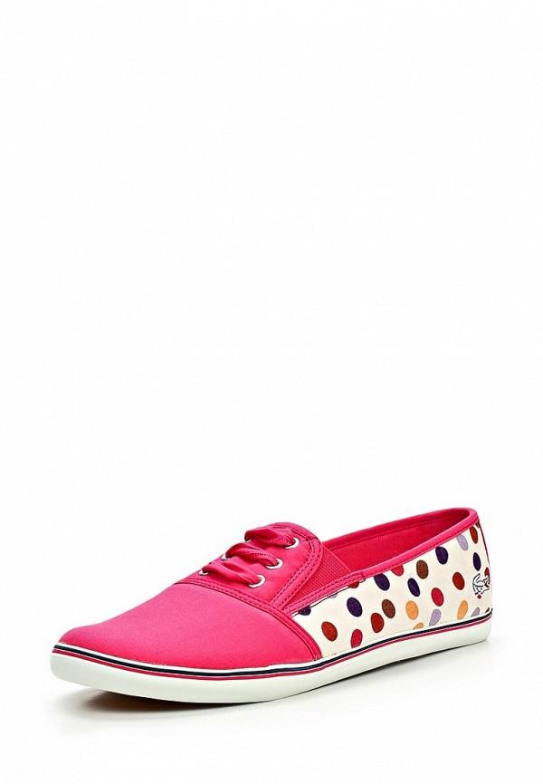 Купить Кеды женские Lacoste LA038AWBSS22, розовые по цене ... 744a8db8cf1