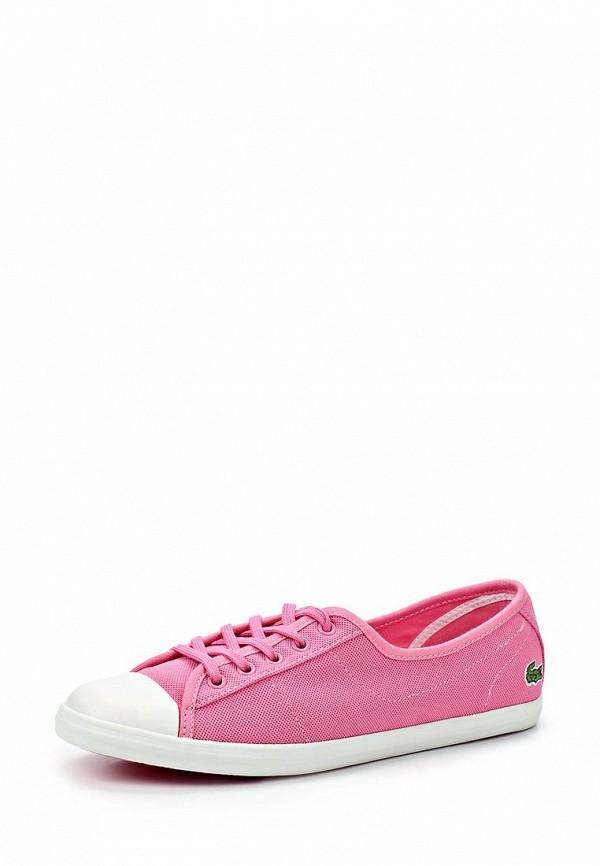 Купить Кеды женские Lacoste LA038AWBSS49, розовые по цене ... 21c40924f7e
