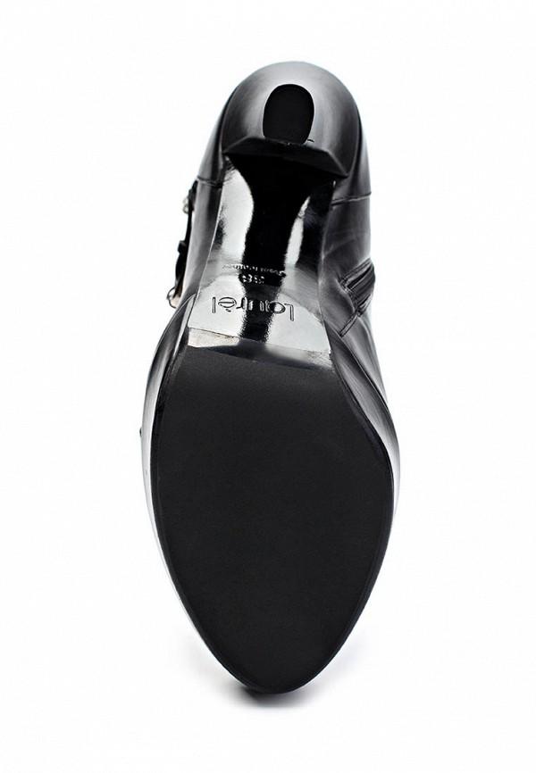 фото Полусапожки на платформе и высоком каблуке Laurel LA678AWGG412, черные