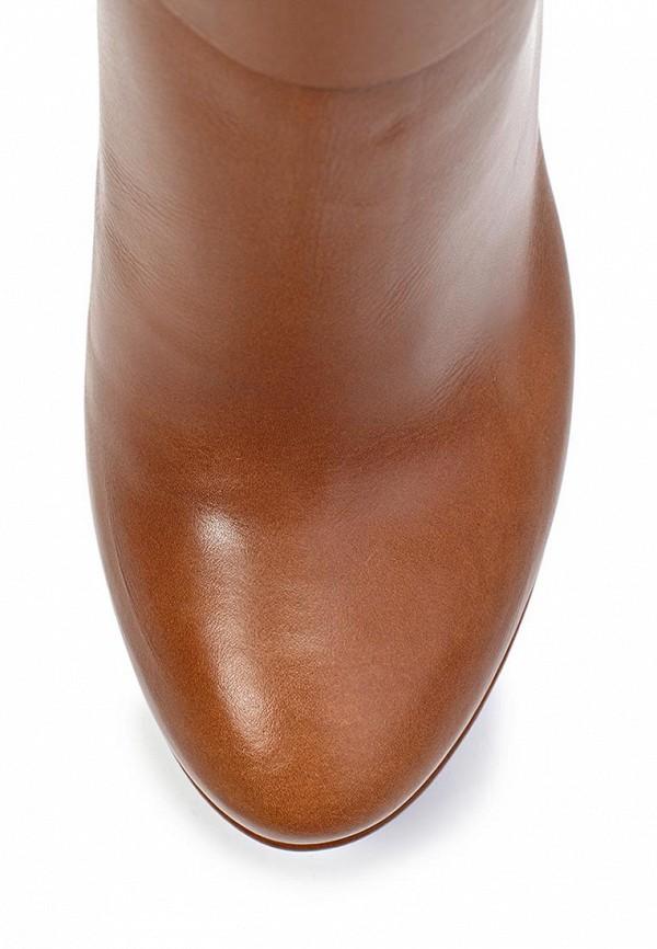 фото Ботильоны на платформе Laurel LA678AWGG413, коричневые/высокий каблук