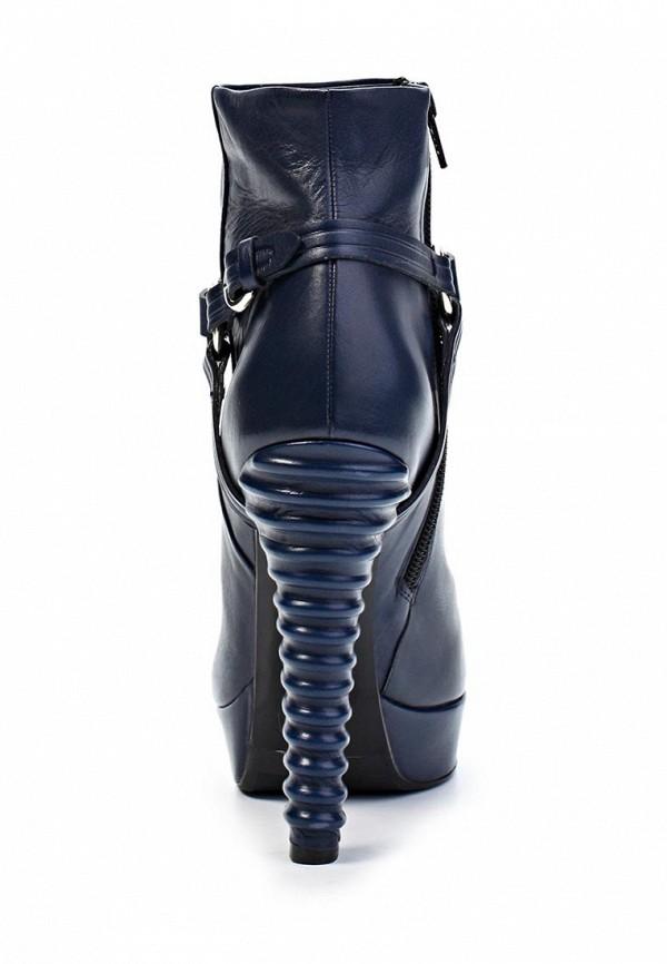 фото Ботильоны на платформе и высоком каблуке Laurel LA678AWGG414, синие
