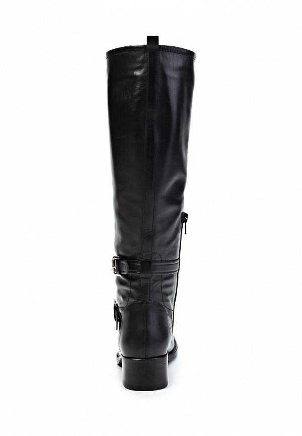 фото Сапоги женские на каблуке Laurel LA678AWIN617, черные кожаные