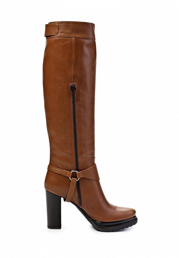фото Женские ботфорты на каблуке Laurel LA678AWIN618, коричневые/платформа