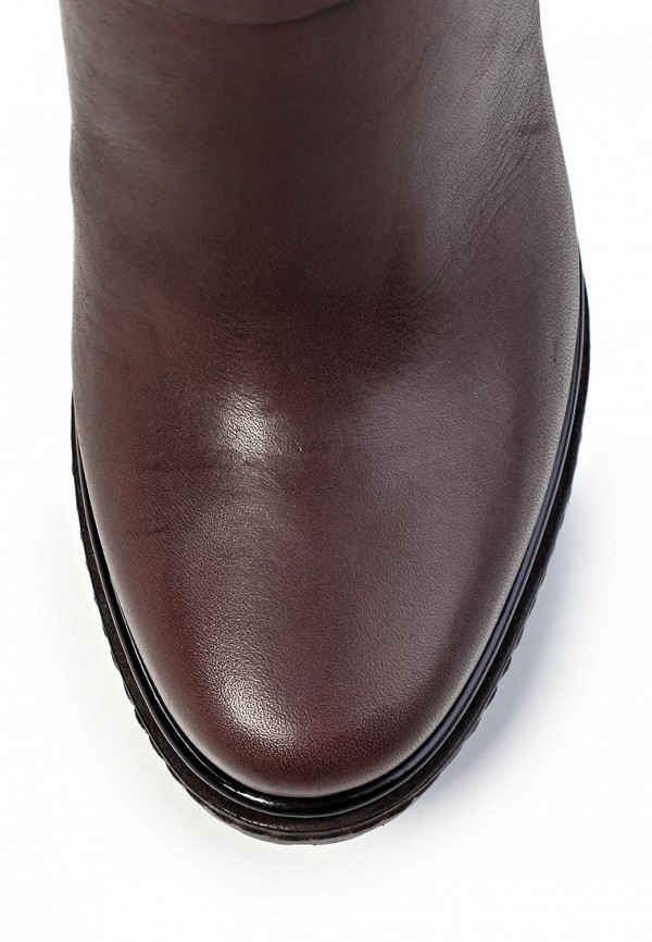 фото Женские ботфорты на каблуке Laurel LA678AWIN619, коричневые