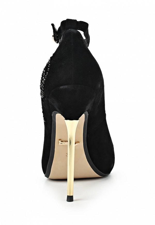 фото Туфли на каблуке-шпильке Laura Valorosa LA948AWAOY64, черные (замша)