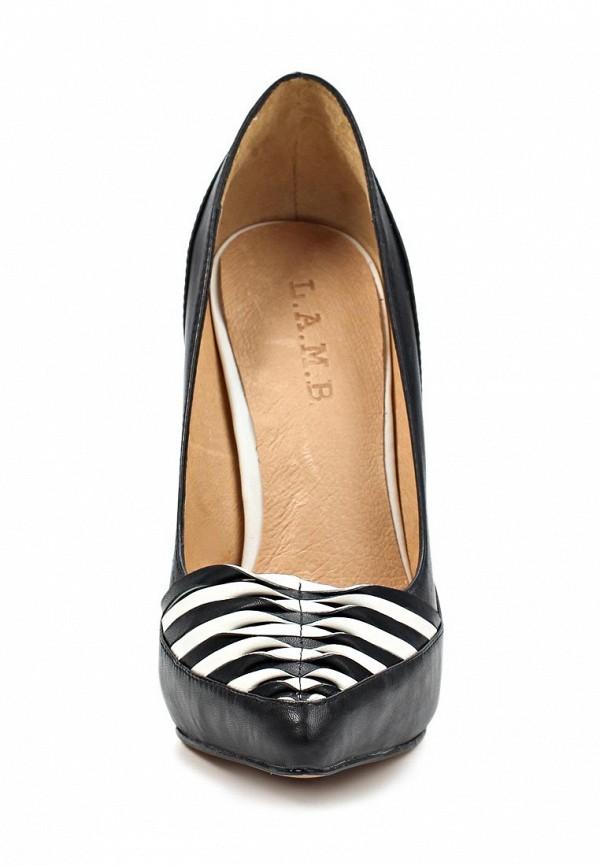 фото Туфли женские на высоком каблуке Lamb LA955AWLI395, черные