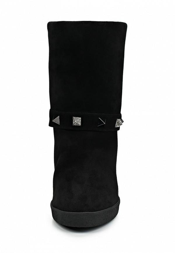 фото Женские полусапожки на танкетке Le Silla LE682AWBVK97, черные