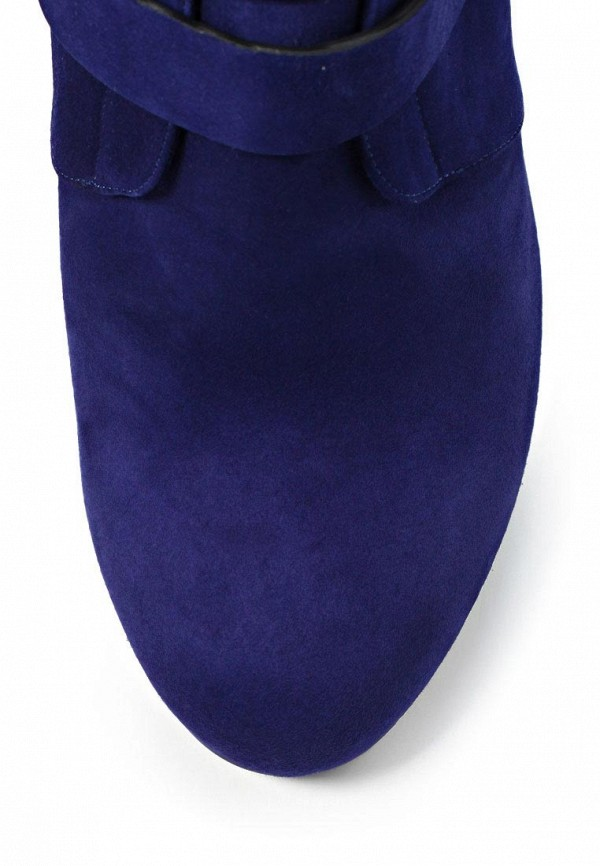 фото Ботильоны на высоком каблуке Le Silla LE682AWKD118, фиолетовые