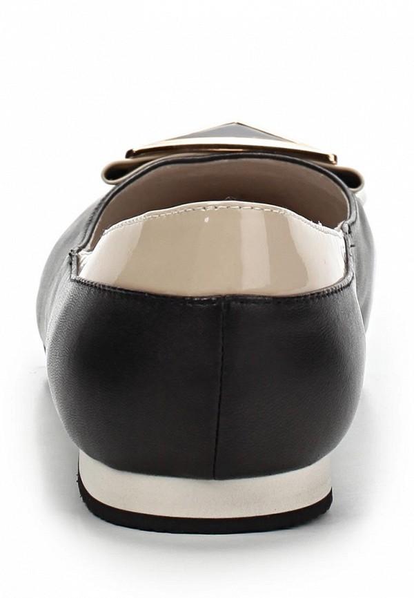 фото Балетки с острым носом LeFollie LE947AWBLP32, черные кожаные