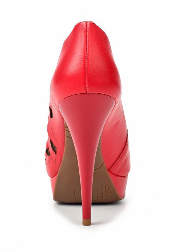 фото Туфли на платформе и каблуке Lilly's Closet LI041AWAEU63, красные