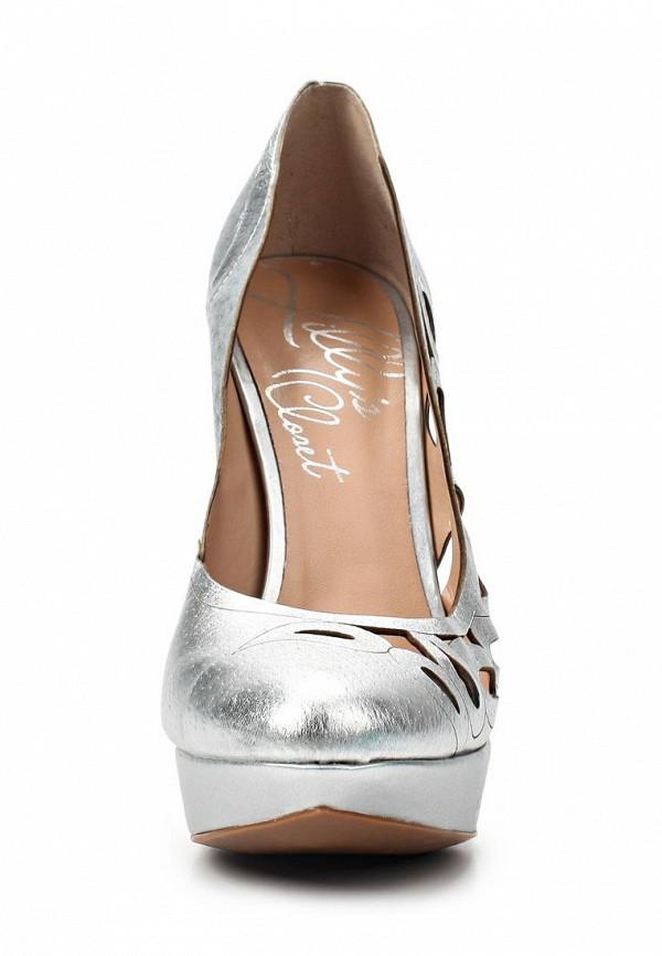 фото Туфли на платформе и высоком каблуке Lilly's Closet LI041AWAEU66, серебряные