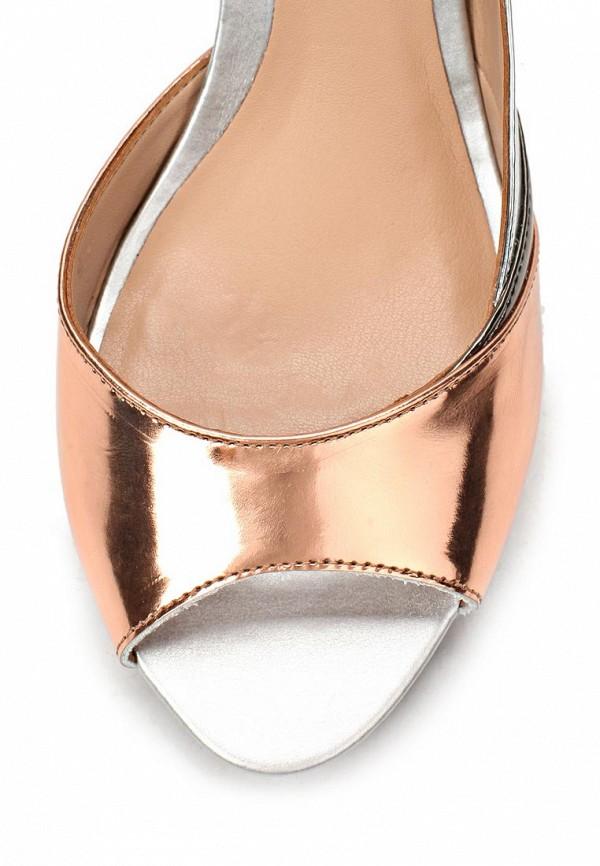 фото Туфли с открытым носом Lilly's Closet LI041AWAEV33, серебряно-золотые/каблук
