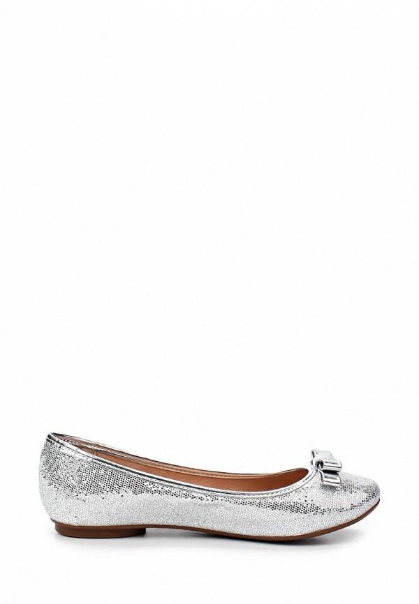 фото Балетки на каблуке Lilly's Closet LI041AWAEV39, серебряные
