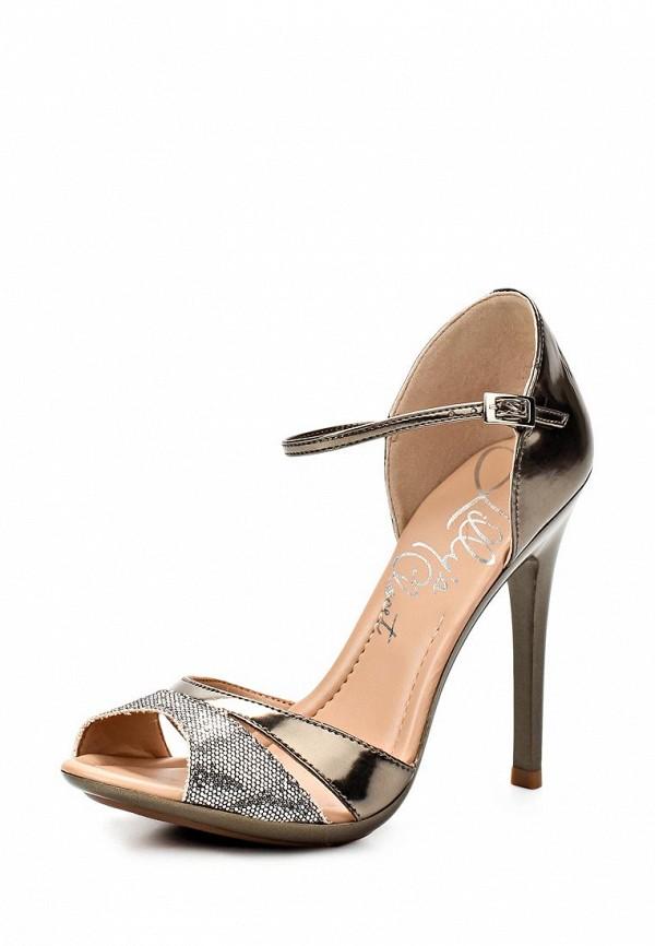 фото Босоножки на каблуке Lilly's Closet LI041AWAEV42, золотые