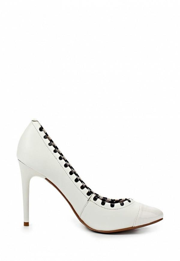фото Женские туфли на каблуке Lilly's Closet LI041AWARH33, белые кожаные