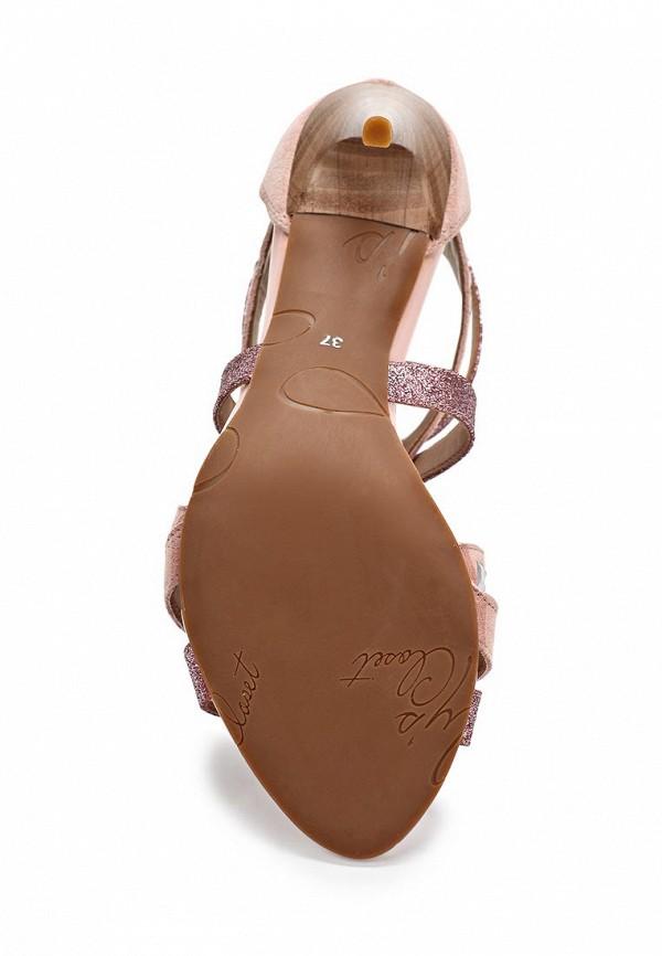 фото Босоножки на каблуке Lilly's Closet LI041AWARH49, розовые