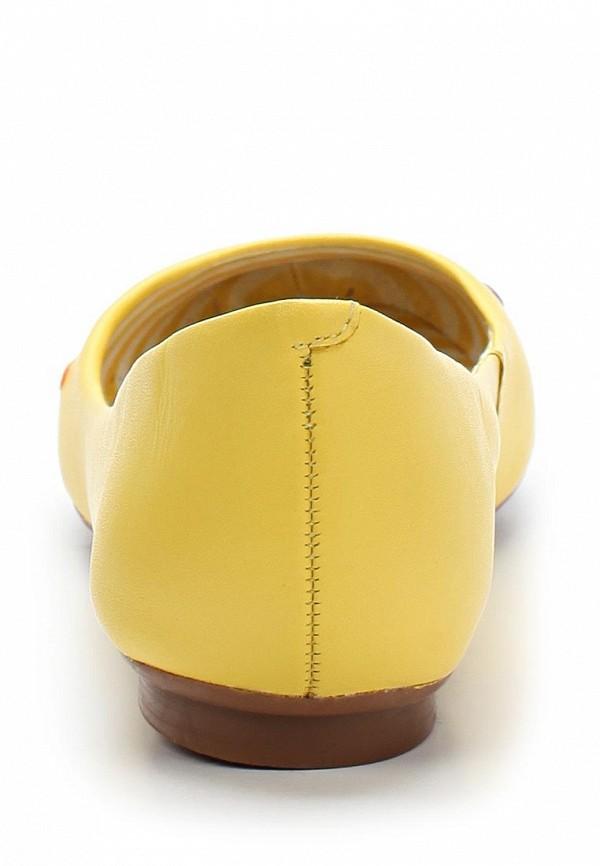 фото Балетки женские Lilly's Closet LI041AWARH59, желтые кожаные