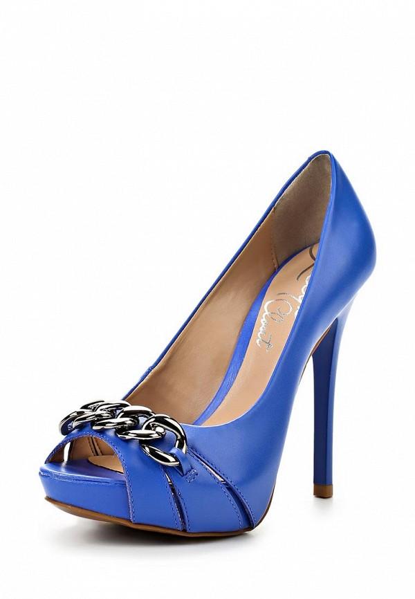 фото Туфли на платформе и каблуке Lilly's Closet LI041AWARH63, синие с открытым носом