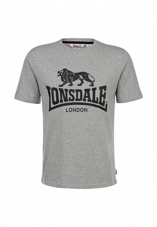 Футболка с надписями Lonsdale MTS001