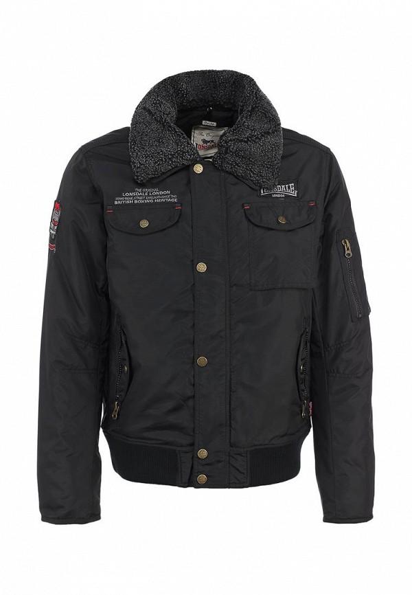 Куртка Lonsdale LO789EMJH489. Цвет: черный