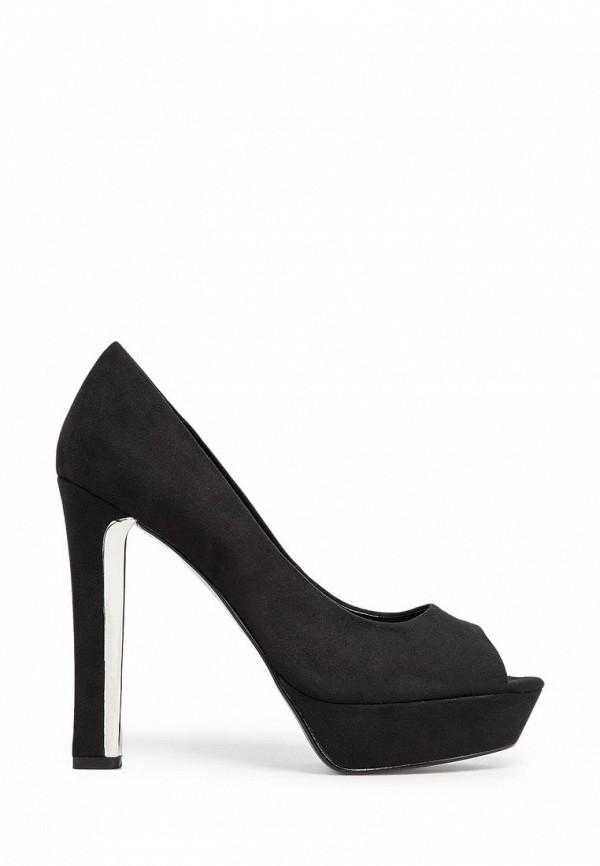 фото Туфли на платформе и высоком каблуке Mango MA002AWCHT54, черные