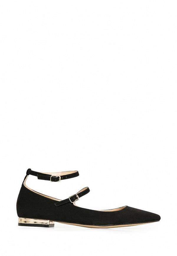 фото Туфли женские Mango MA002AWCHT72, черные замшевые