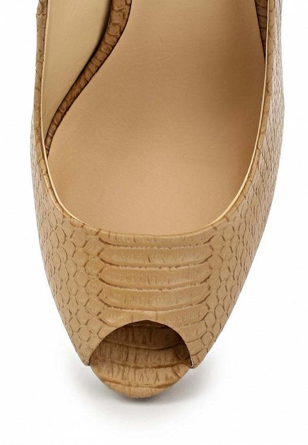 фото Туфли на платформе и каблуке Mango MA002AWLT888, телесного цвета