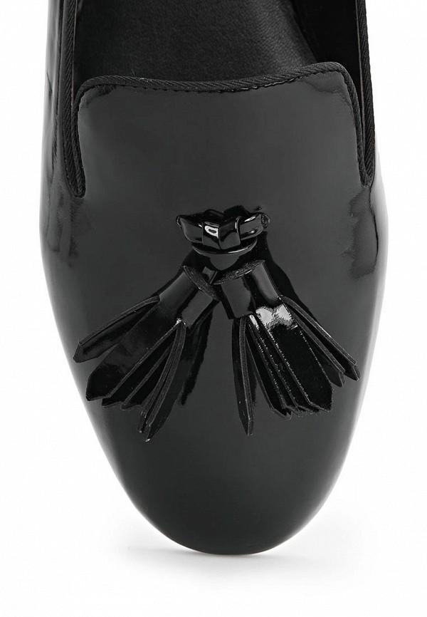 фото Лоферы женские Mango MA002AWLT889, черные