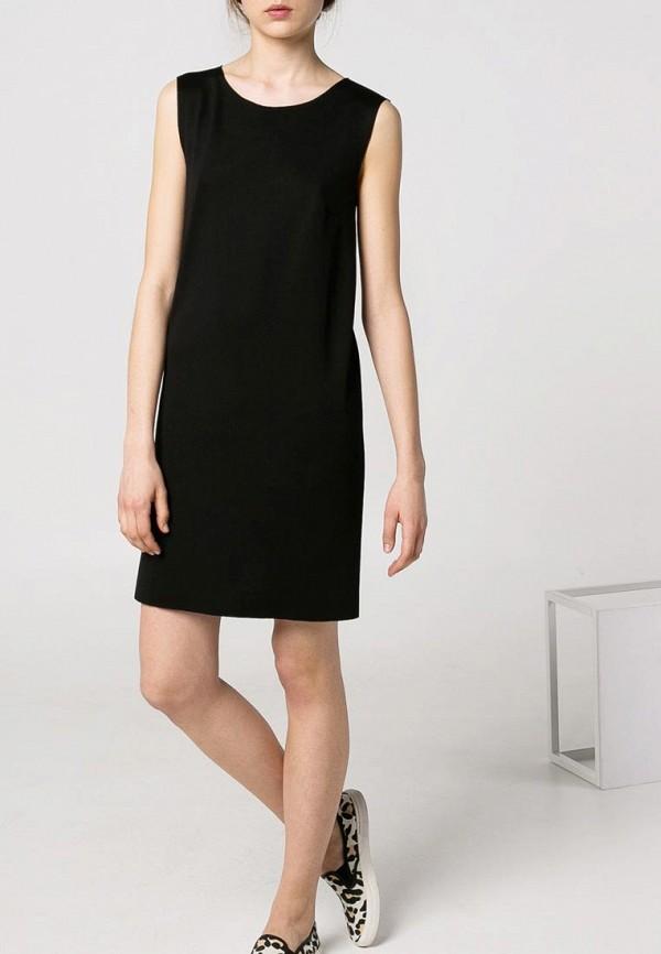 Платье прямое без рукавов