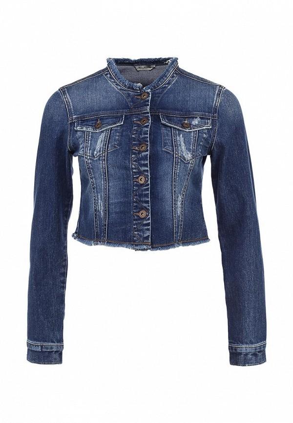Куртка джинсовая Mavi MA008EWACX11. Цвет: синий