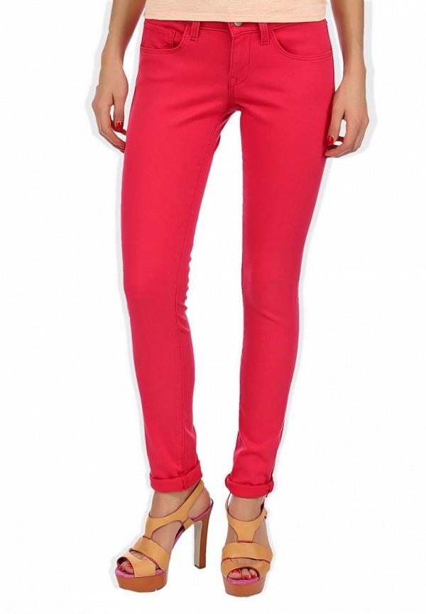 бордовые джинсы женские