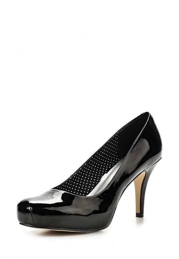 фото Туфли на платформе и каблуке Madden Girl MA020AWASG46, черные лаковые