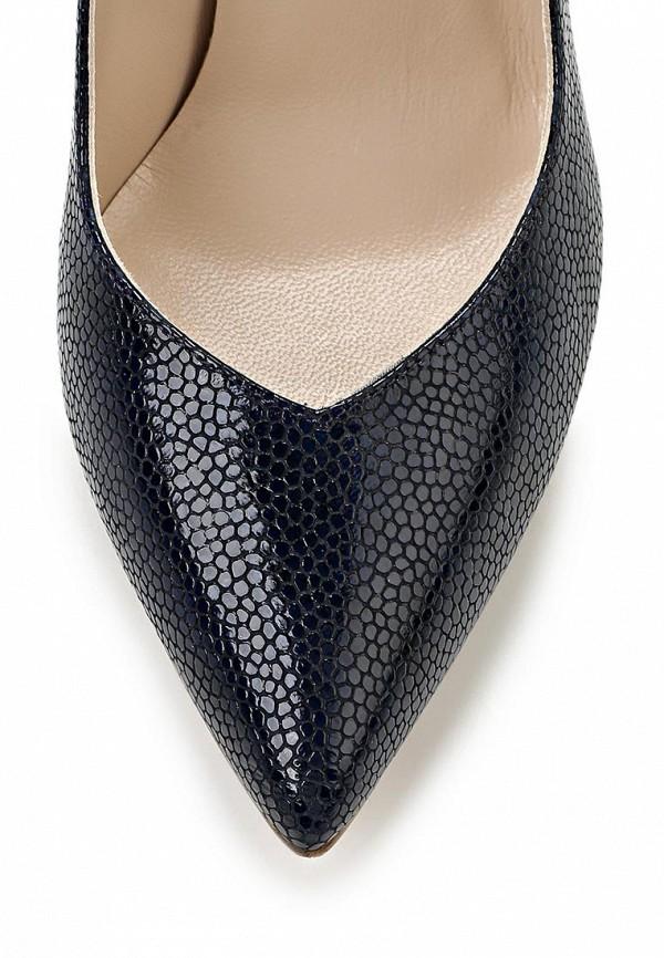 фото Женские туфли на каблуке Marco Rizzi MA045AWATC06, черные кожаные