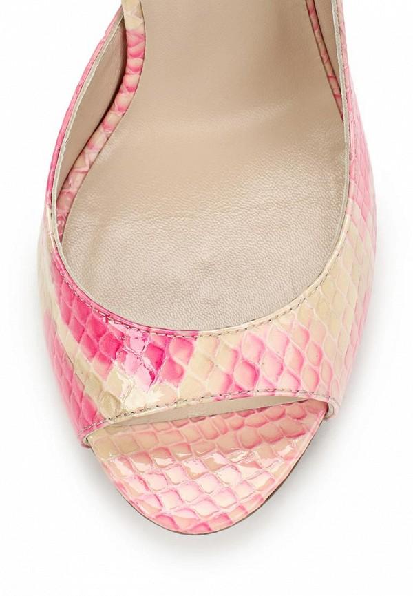 фото Туфли на каблуке-шпильке Marco Rizzi MA045AWATC13, розовые/цветные