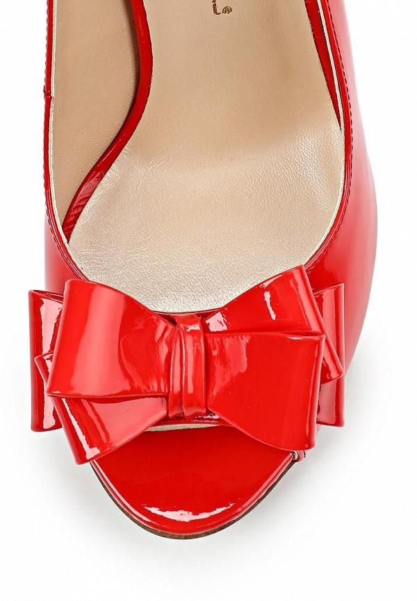 фото Туфли с открытым носом Marco Rizzi MA045AWATC20, красные/каблук