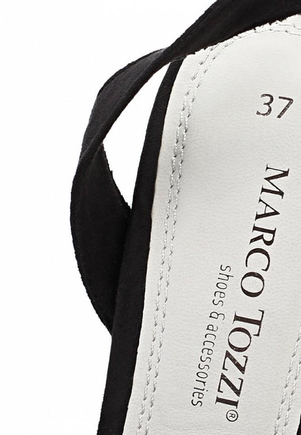 фото Босоножки на каблуке Marco Tozzi MA143AWACO03, черные
