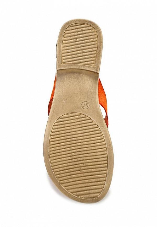фото Сабо женские на низком каблуке Marco Tozzi MA143AWACO30, оранжевые