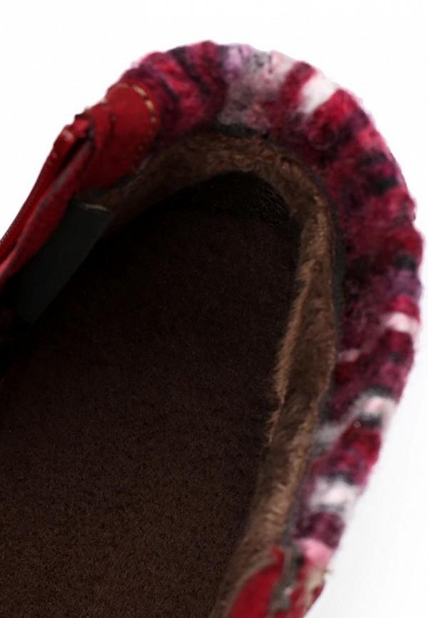 фото Ботинки женские Marco Tozzi MA143AWCLU94, красные со шнурками