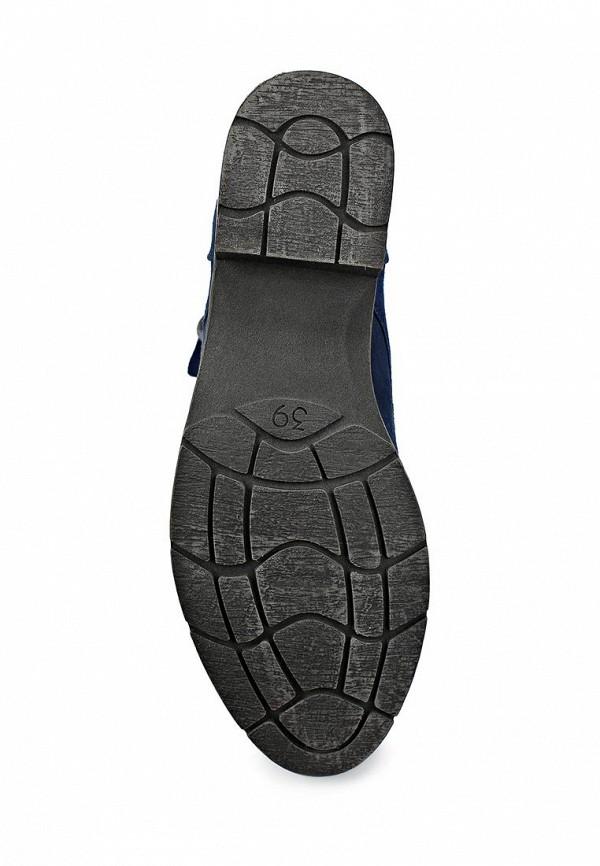 фото Ботинки женские на каблуке Marco Tozzi MA143AWCLU96, синие