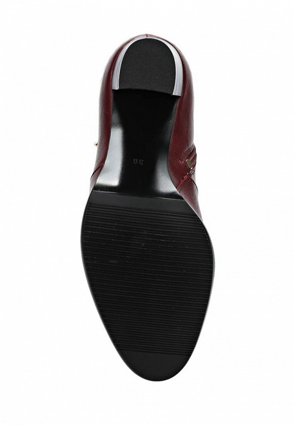 фото Сапоги на высоком каблуке Marie Collet MA144AWCNL31, бордовые (кожа)
