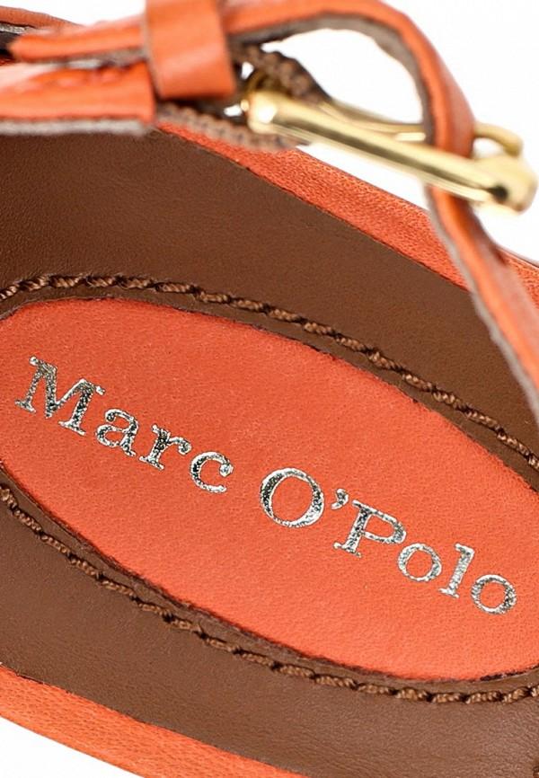 фото Босоножки на платформе Marc O'Polo MA266AWAVP64, оранжевые