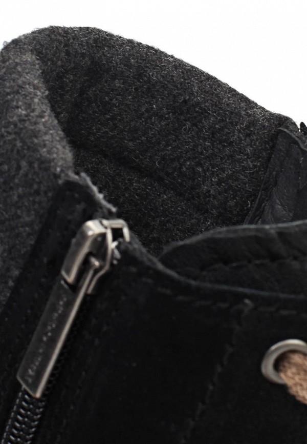 фото Женские полусапожки на шнуровке Marc O'Polo MA266AWIL934, черные