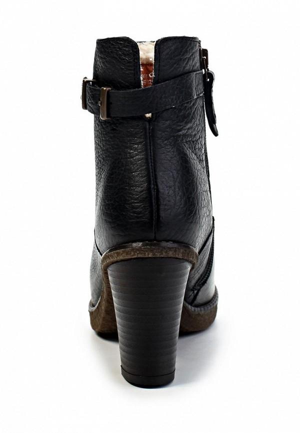 фото Ботильоны на толстом каблуке Marc O'Polo MA266AWIL964, черные