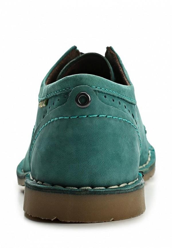 фото Полуботинки женские Marc MA361AWAQW80, зеленые на шнурках